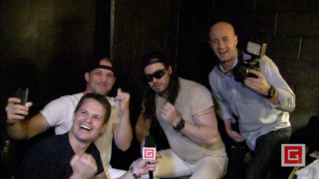 Andrew W.K. parties hard with his biggest fans